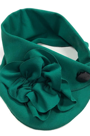 bright green lighweight scarf rew clothing