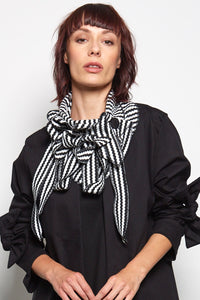striped rew scarf