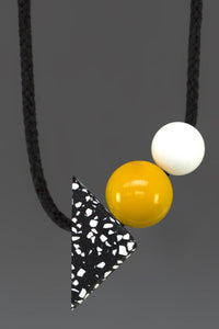 Otto - Standout Yellow Necklace