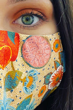 Fabric Face mask - Tropical Print