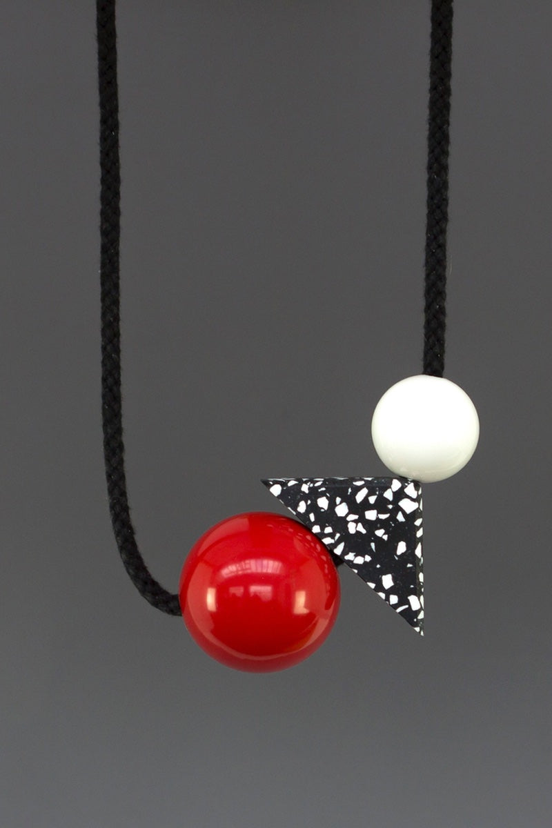 TEO - Standout Red Necklace