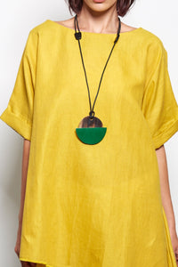 Vivienne - Circle Pendant Necklace