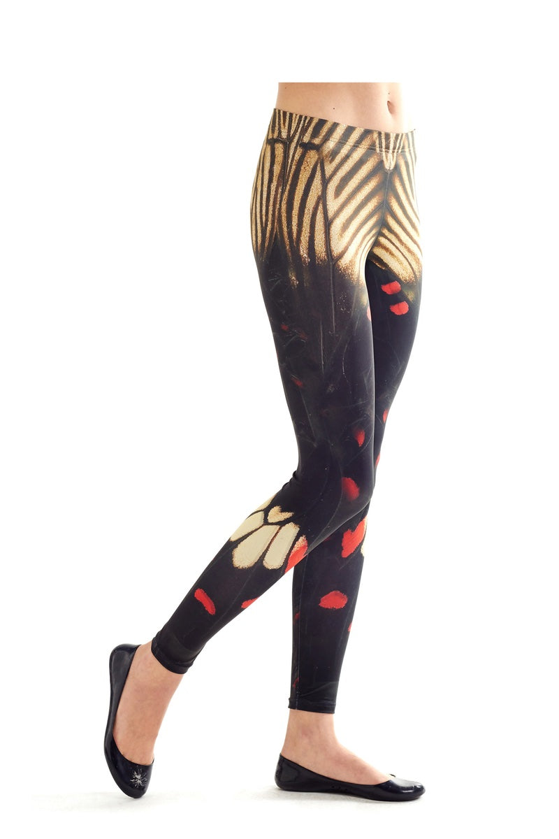 Leggings - Wings patterned