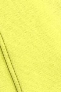 Lounge Wear - Citrus Yellow Loose Fit Top with Pockets