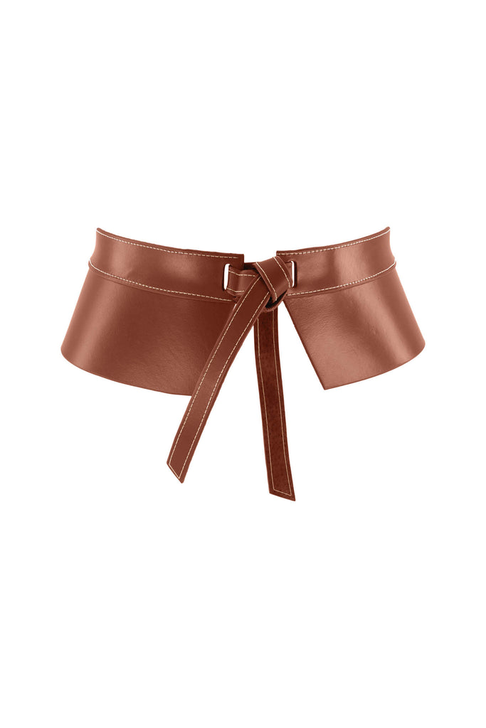 Demi Corset Belt - Vintage Tan