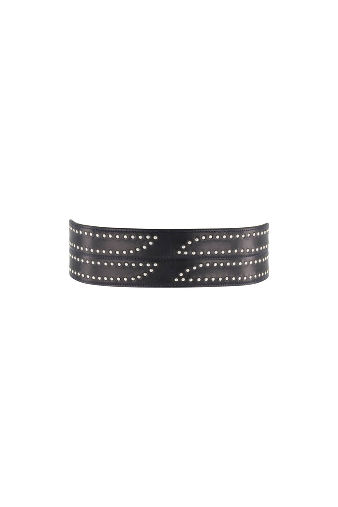 Luna Belt - Black/Silver