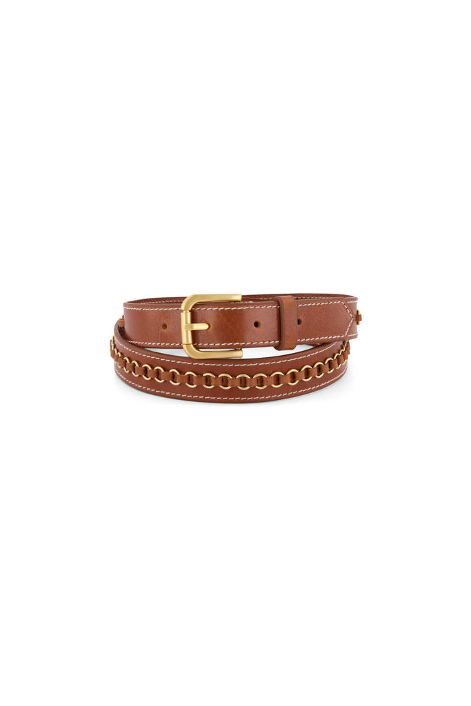 Single Ring Belt - Vintage Tan