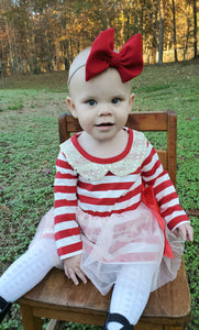 Candy Cane Tutu Dress