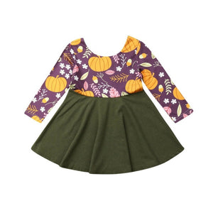 Purple Pumpkin Dress