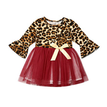 Load image into Gallery viewer, Leopard Tutu Dress