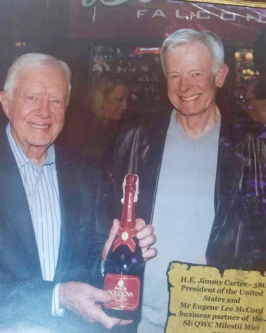 MoldoVAWineHouse - H.E. Jimmy Carter