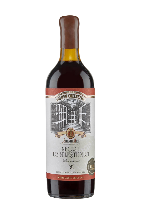 Negru de Milestii Mici 1988 Preserved in Golden Co - MoldoVAWine House