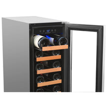 Load image into Gallery viewer, 19 Bottle Single Zone Built In Compressor Wine Refrigerator - Smith & Hanks