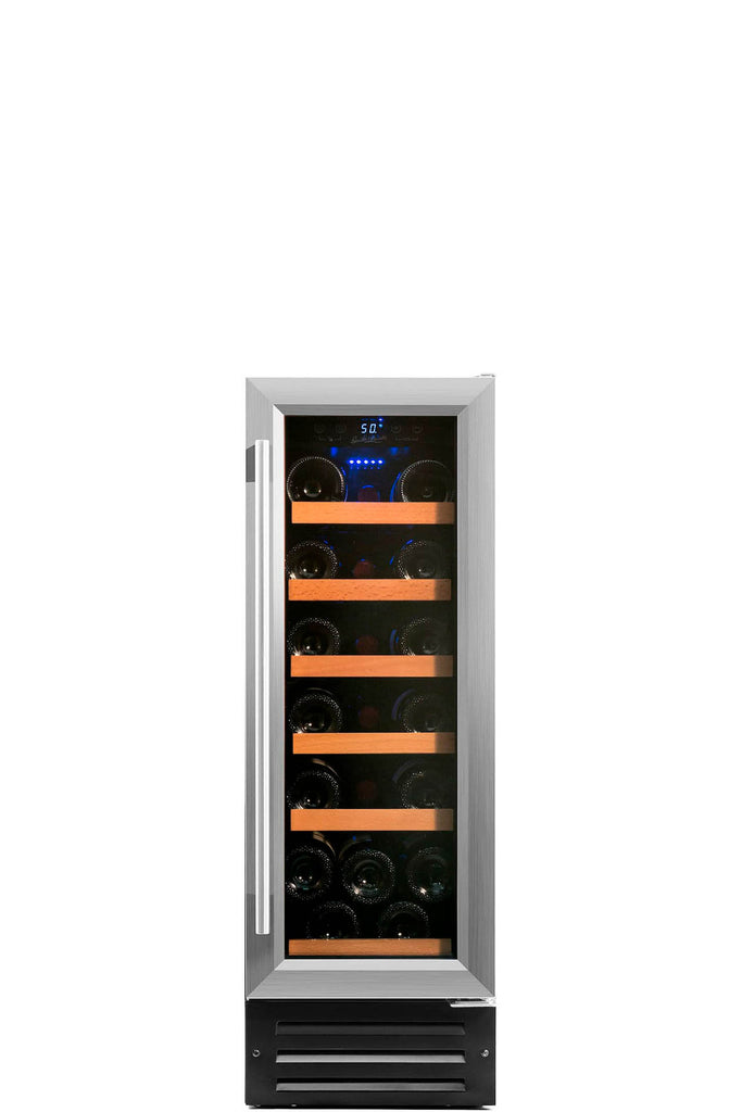 19 Bottle Single Zone Built In Compressor Wine Refrigerator - Smith & Hanks