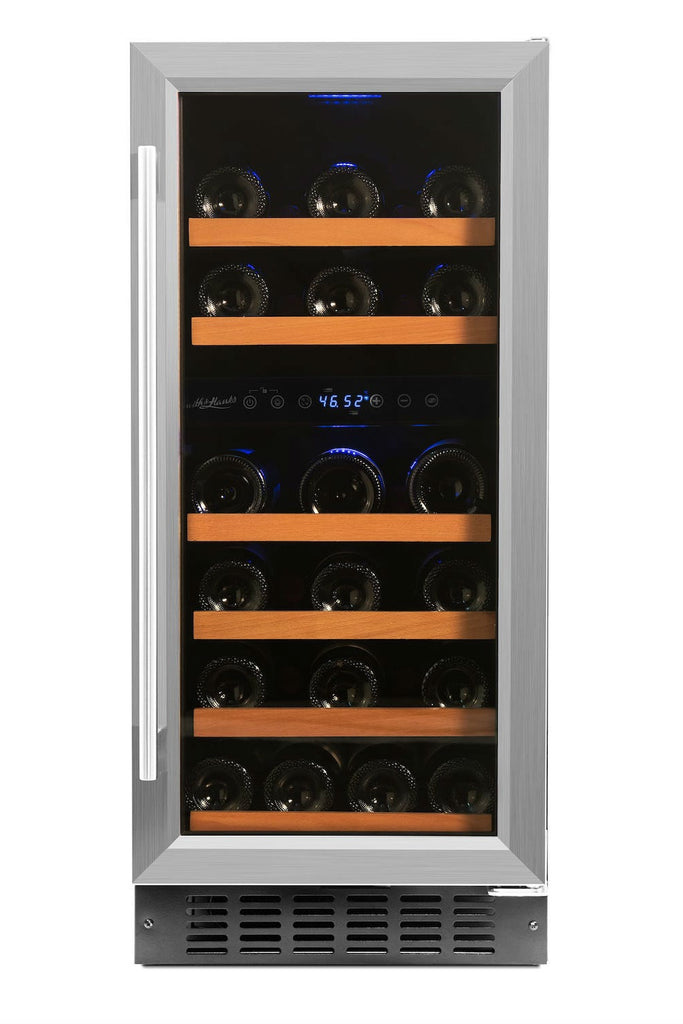 SD 32 Bottle Dual Zone Wine Cooler - Smith & Hanks