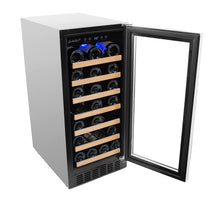 Load image into Gallery viewer, Smith & Hanks 34 Bottle Single Zone Built In Wine Cooler - Smith & Hanks
