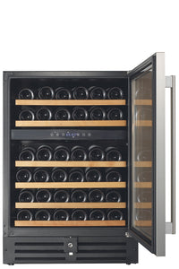 Smith & Hanks 46 Bottle Dual Zone Wine Cooler - Smith & Hanks