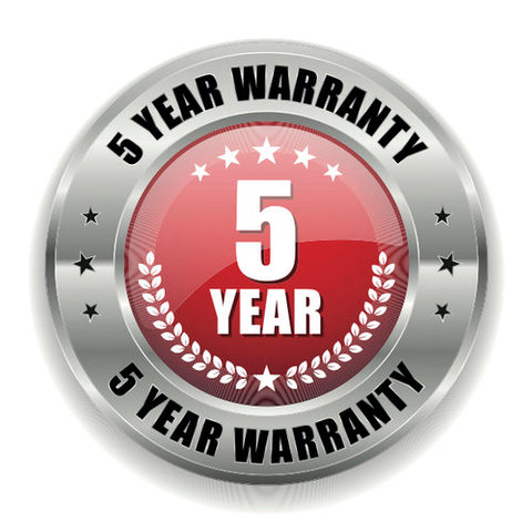 5 Year Extended Warranty - $259