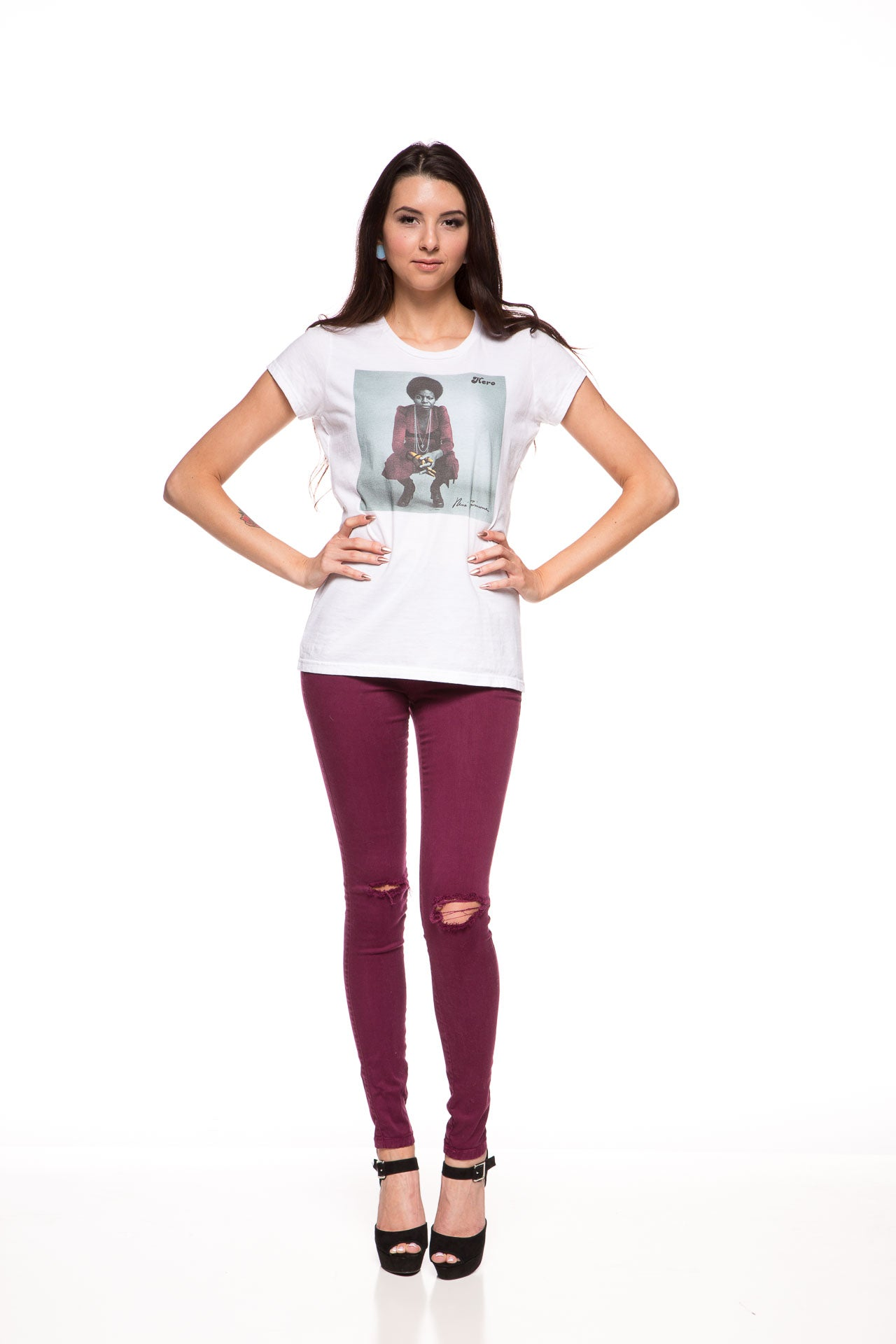 Nina Knight Ladies Tee