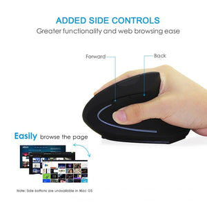 VertiMouse™ - Wireless Ergonomic Vertical Mouse