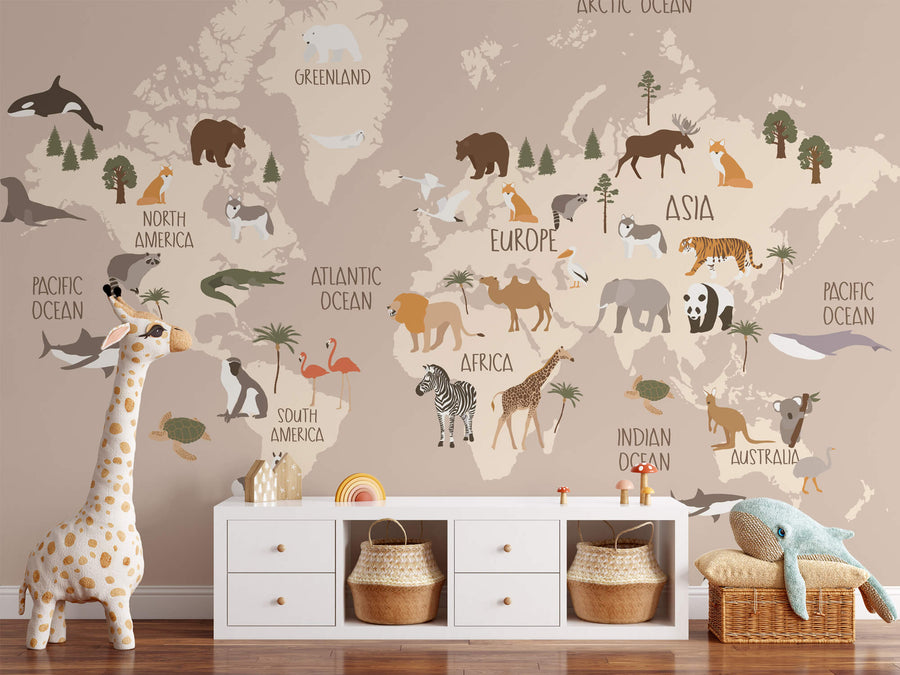 Boho Animal World