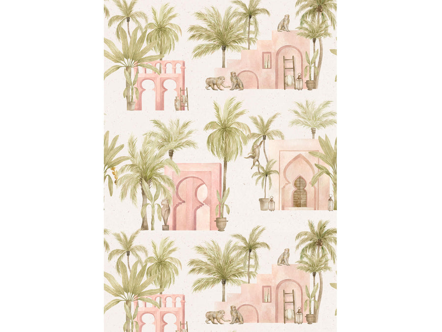 Moroccan Pink Print