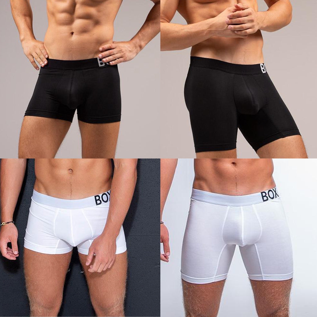 King Fit Black White Short Leg Long Leg Transparent Ctotch
