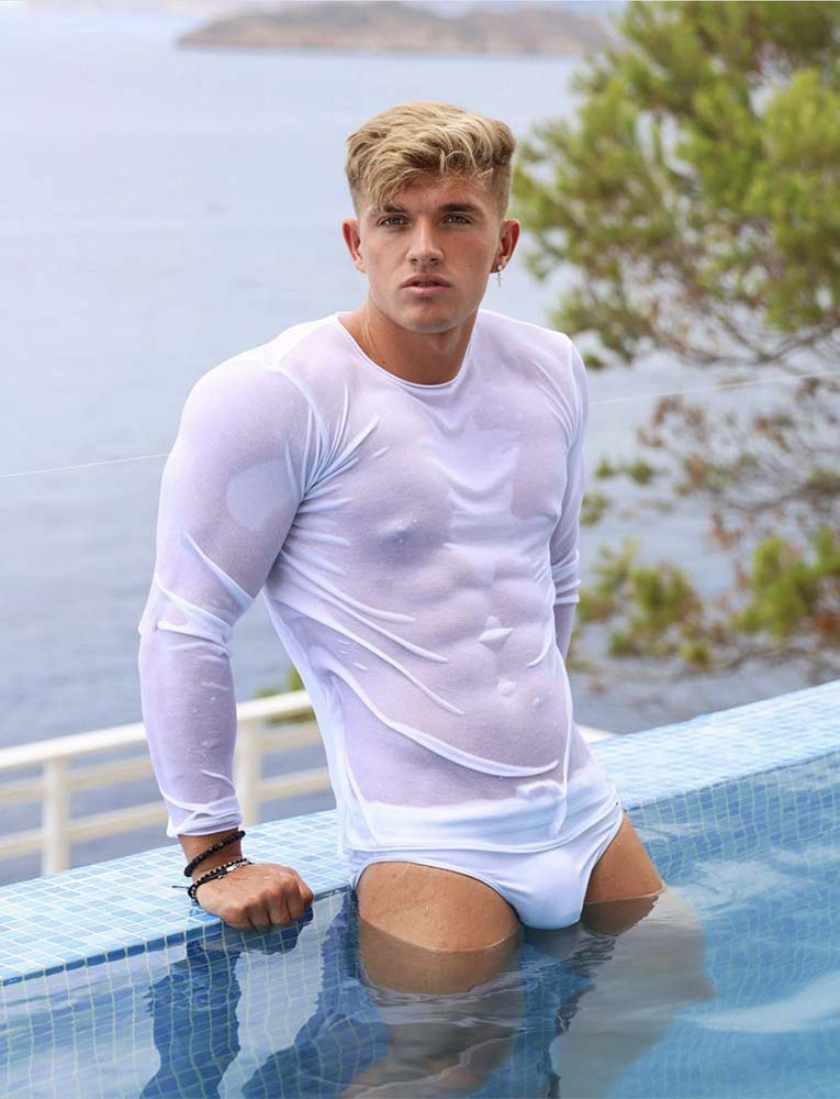 Swimming Trunks - White