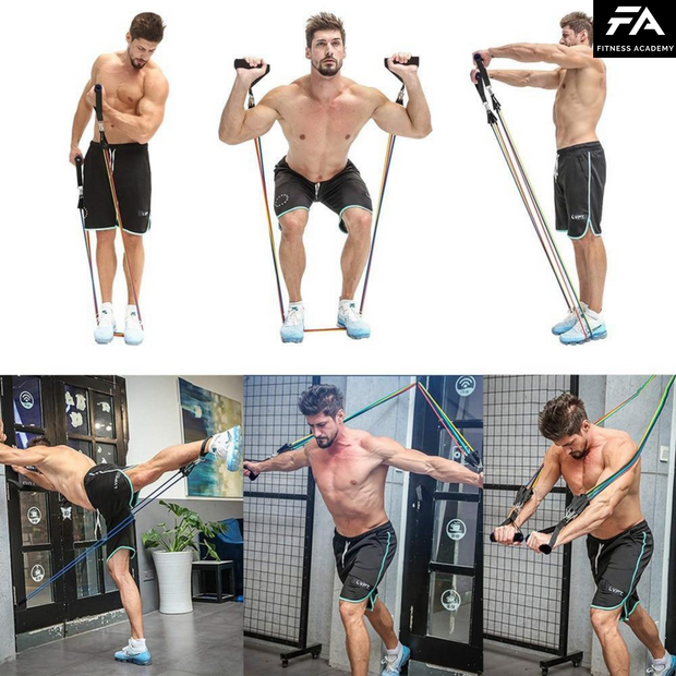 HomeGym Fitness Academy™ + Pack d'Exercices Offert !
