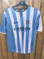 PRE WORN ORIGINAL COVENTRY CITY SHIRTS 0NLY AVAILABLE IN SIZES ADVERTISED