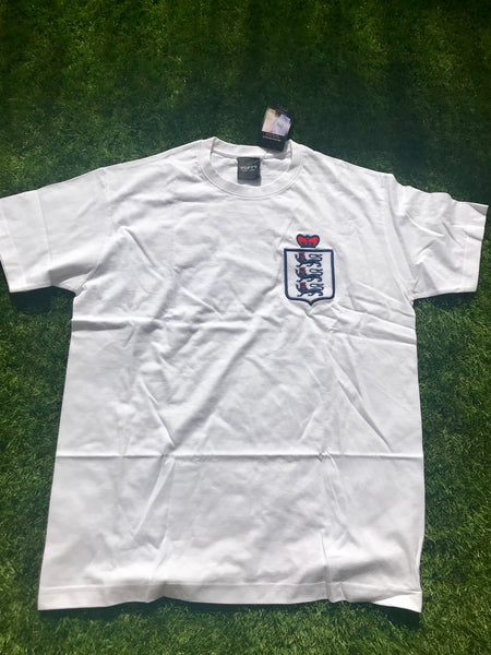 Toffs England Retro White T shirt