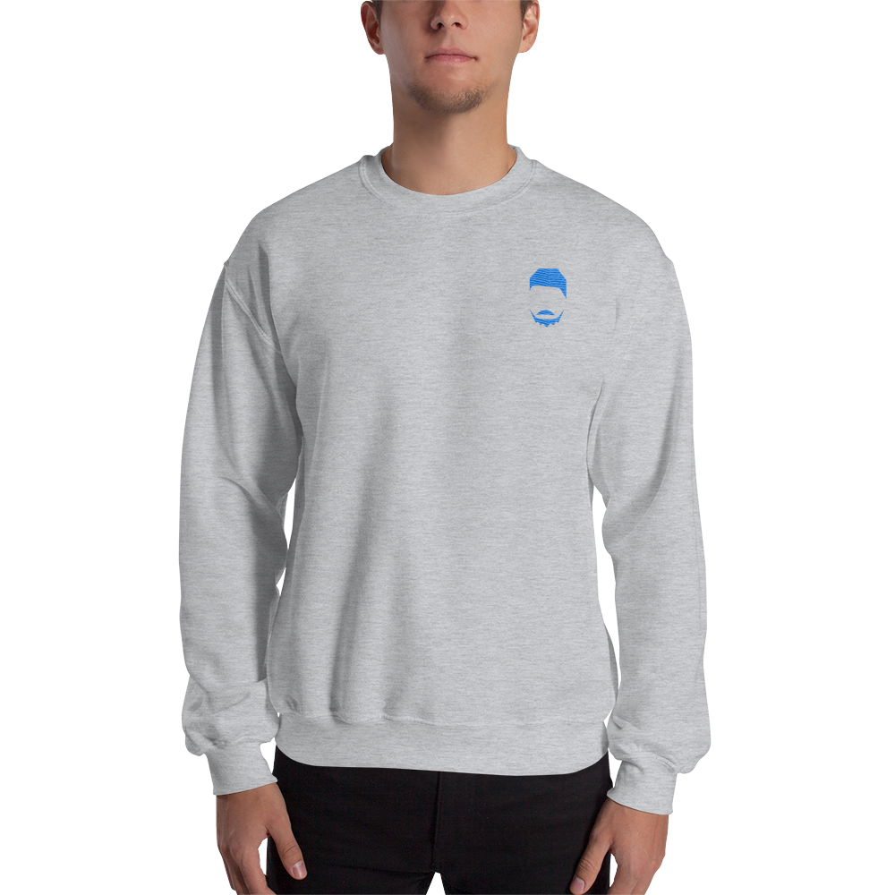 By Release Embroidered Logo Sweatshirt
