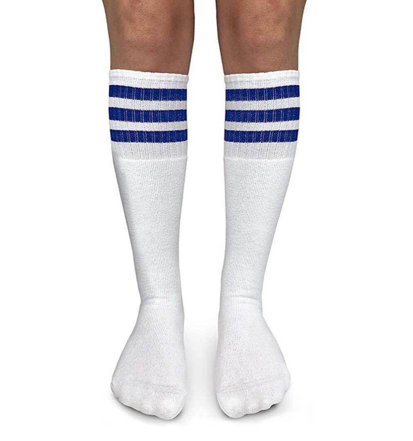 Jefferies Socks Stripe Knee High Tube Socks