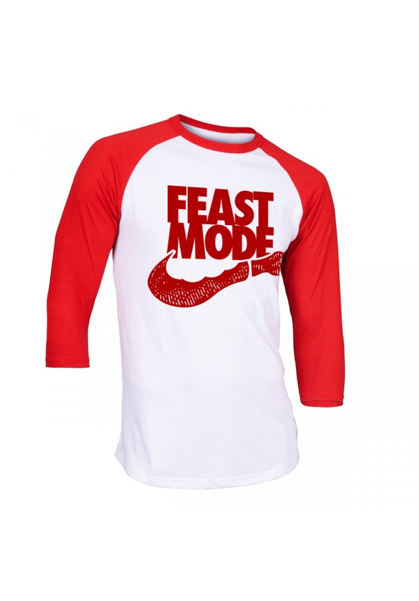Feast mode baseball t-shirt samson athletics