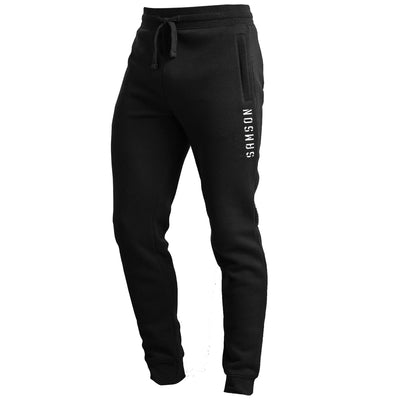 MEN'S TAPERED JOGGING PANTS - BLACK