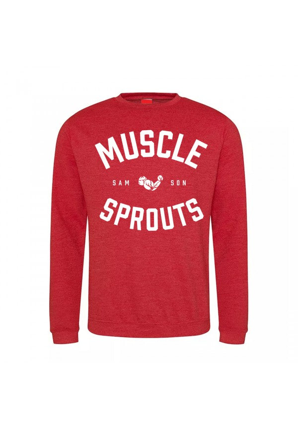 Muscle sprouts sweatshirt samson athletics