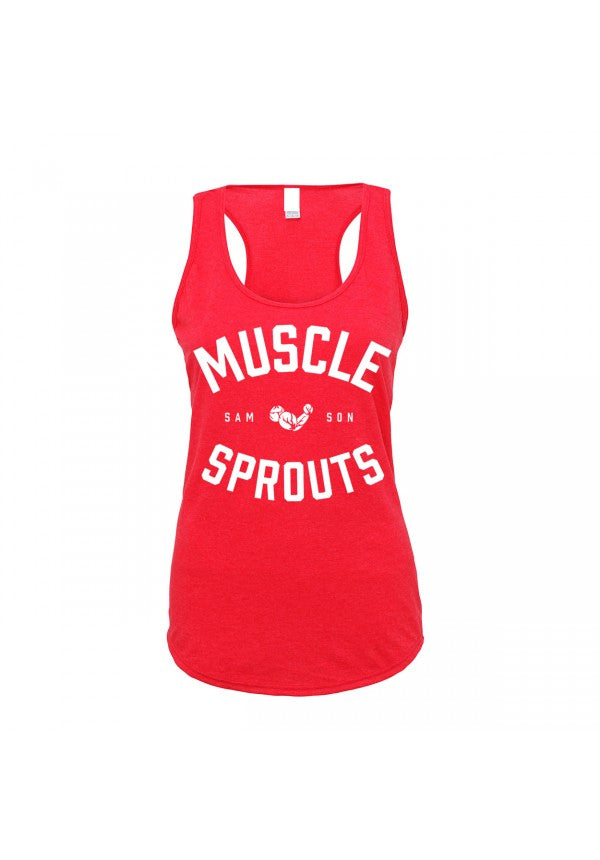 Muscle sprouts ladies tank samson athletics
