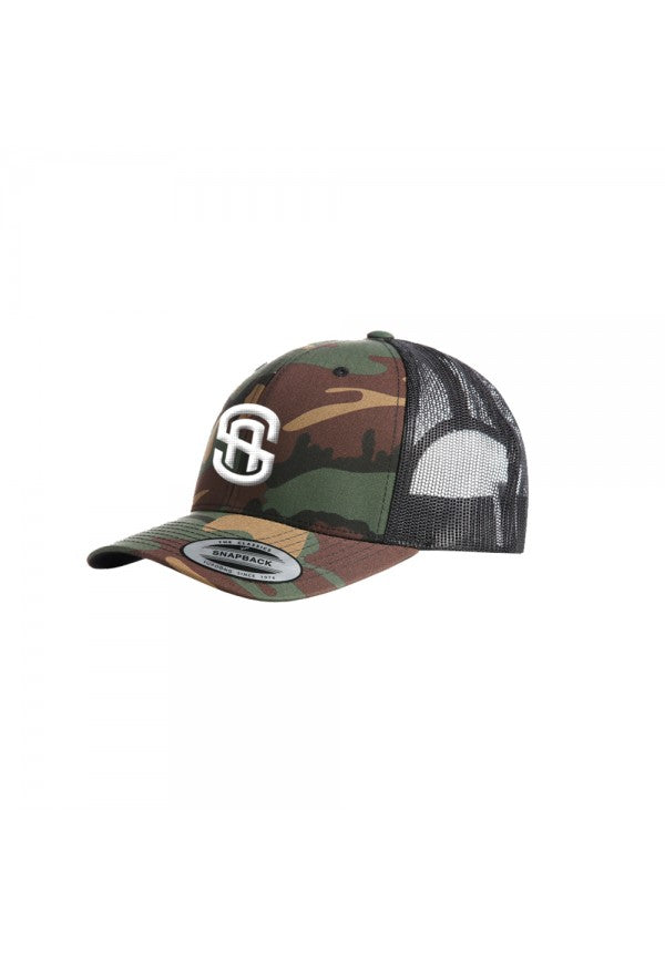 Samson camo trucker hat samson athletics