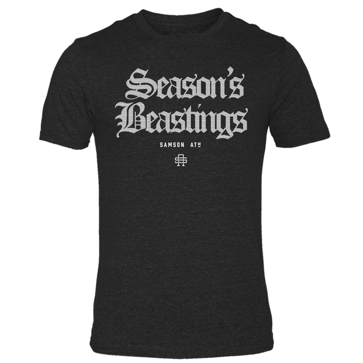 Season's Beastings Christmas Gym T-Shirt