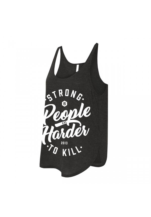 Strong people are harder to kill 2.0 tank samson athletics