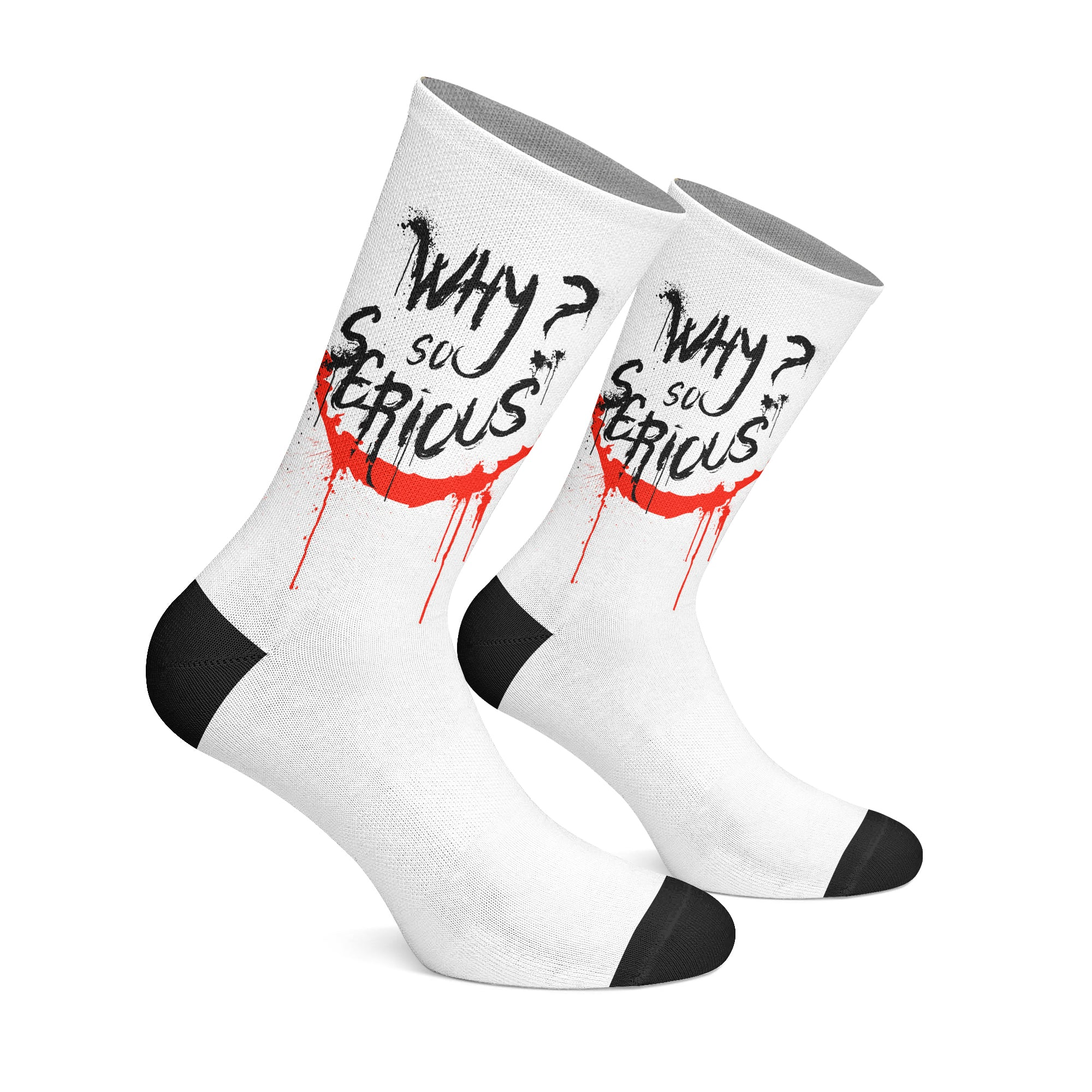 Why So Serious - Socks