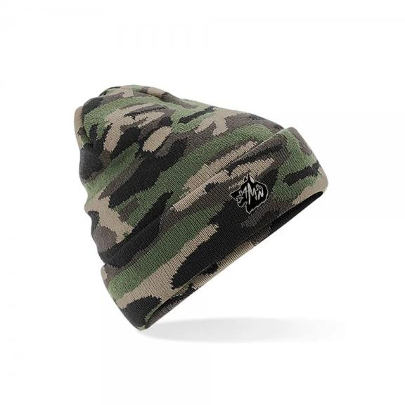 Camo beanie jungle  samson athletics