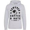 POWERED BY COFFEE AND HATE - V2 - HOODIE