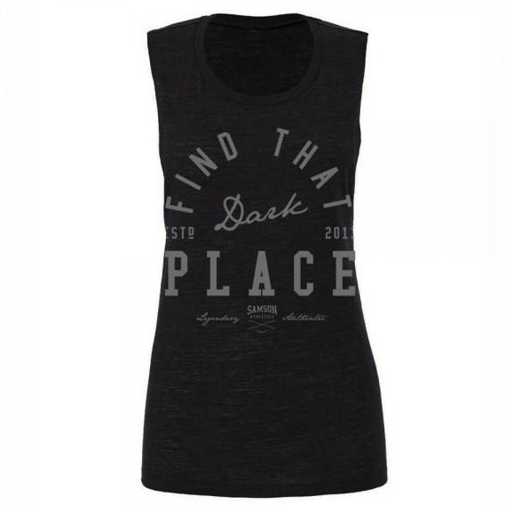Dark place ladies tank samson athletics