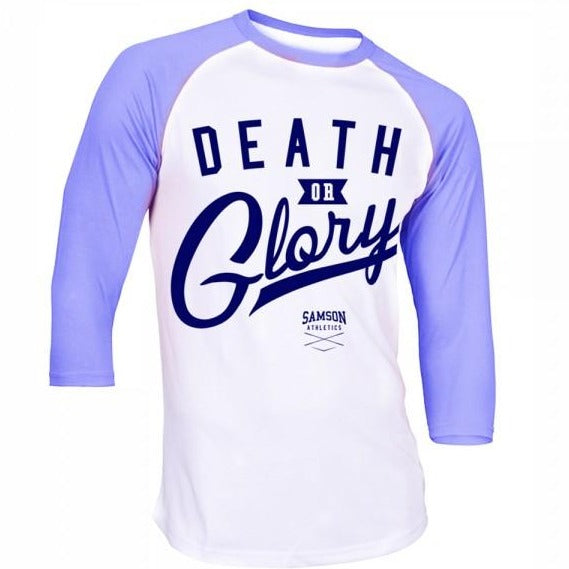 Death or glory baseball tshirt samson athletics