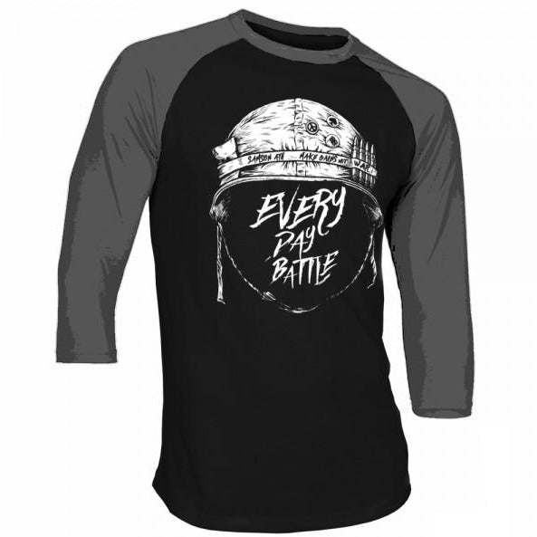 Every day battle baseball t-shirt samson athletics