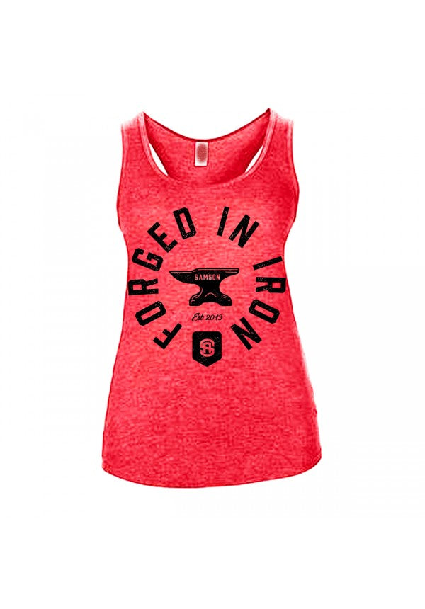 Forged in iron ladies tank samson athletics