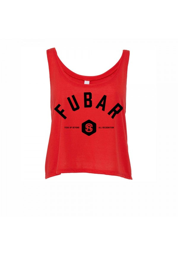 Fubar ladies cropped tank samson athletics
