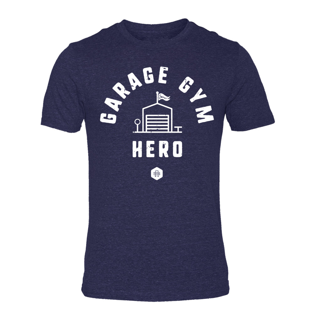 Garage Gym Hero - Triblend TShirt