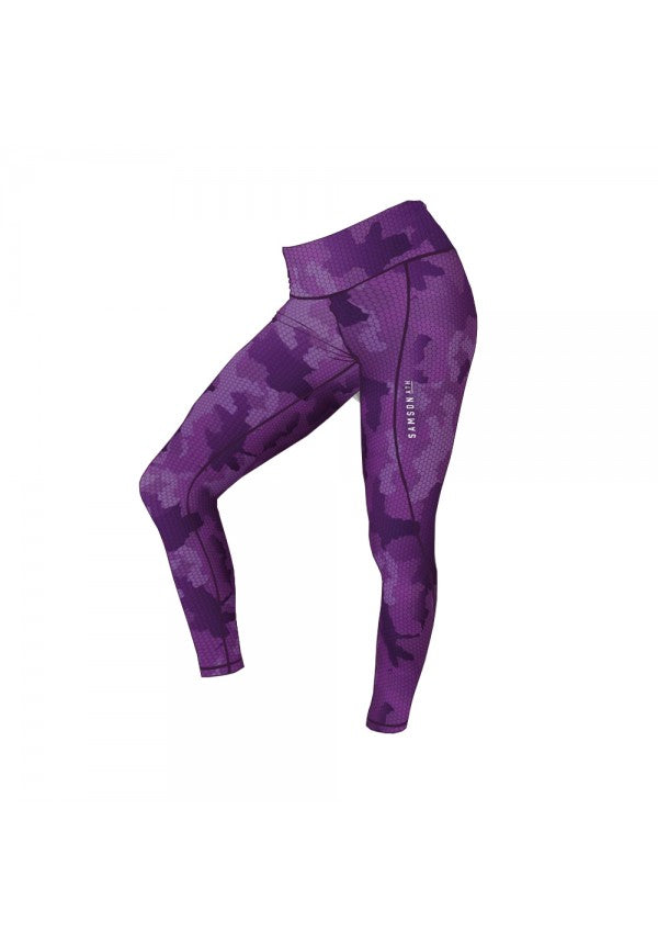 Samson leggings 2.0 hex purple samson athletics